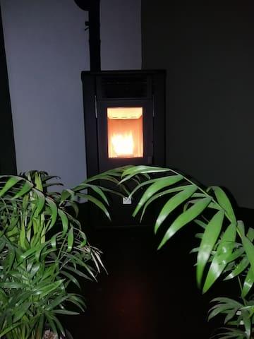 near Amsterdam,privé, jacuzzi, sauna,fire stoof,