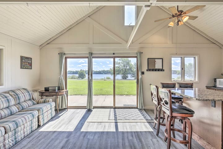 NEW! Waterfront Butternut Lake Home w/Private Dock