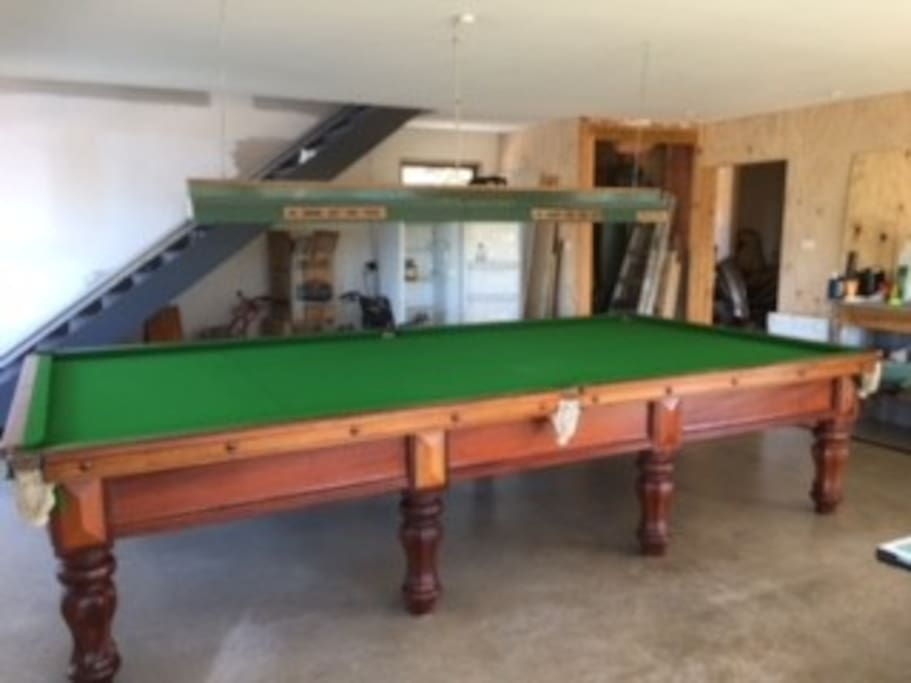 Full size billiards table