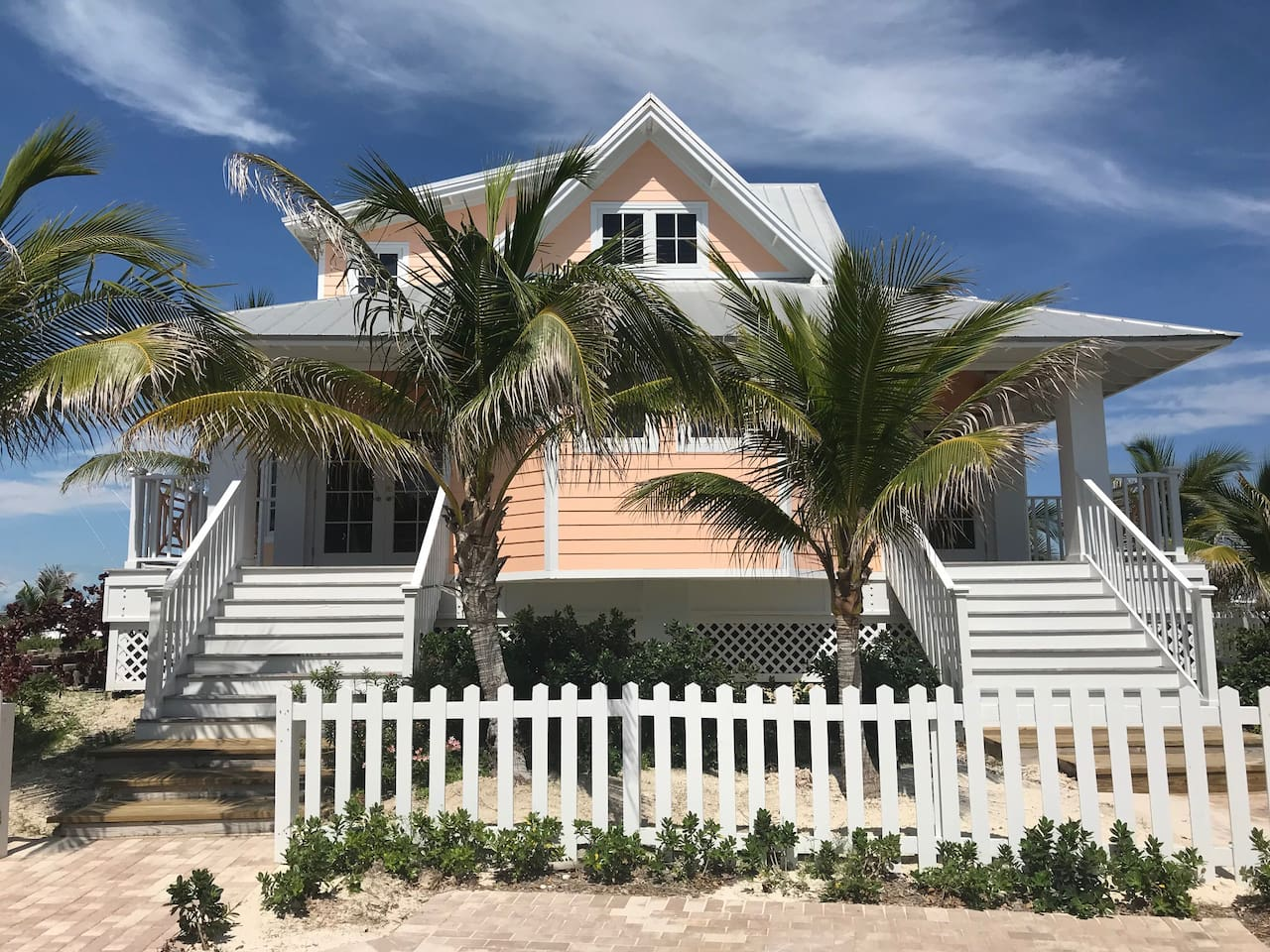Welcome to your island home, the Peach Villa at Chub Cay Resort & Marina! Featuring 3 bedrooms, 3.5 bathrooms, living, dining, and kitchen space, you will have all the comforts of home during your island getaway.