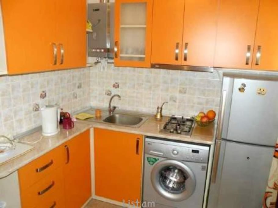 One bedroom apartment apartments for rent in yerevan for Kitchen furniture yerevan
