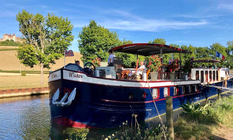 2020 - French barge trips on the Burgundy Canal