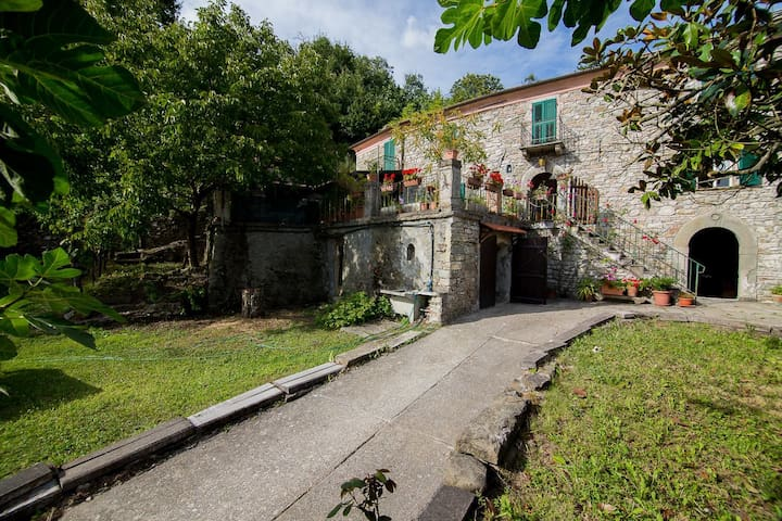Casa coloniale immersa nel verde