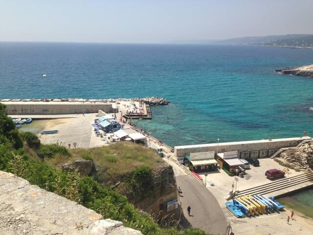 castro marina appartamento sole - Castro - Pis