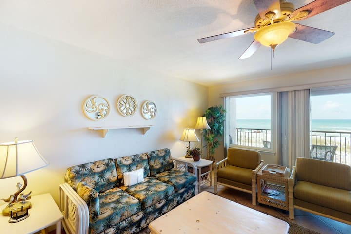 2nd Floor Updated Condo w/ Gulf Front Views, Short Drive To Shopping