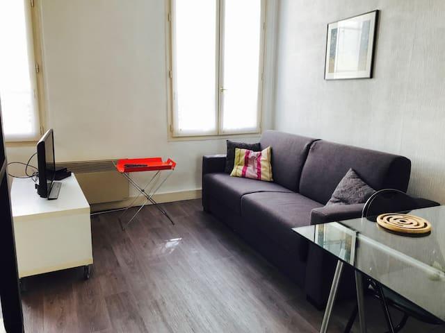 Paris - Oberkampf studio - (Mobility lease)