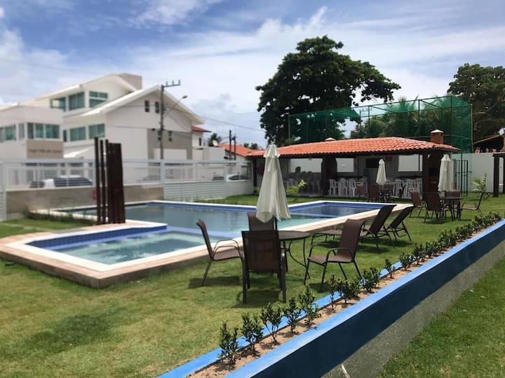 Tamandaré -Privê Almirante 3  suítes,piscina .