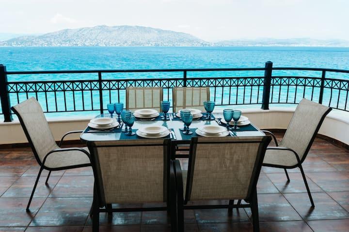 Beach luxury apartment
