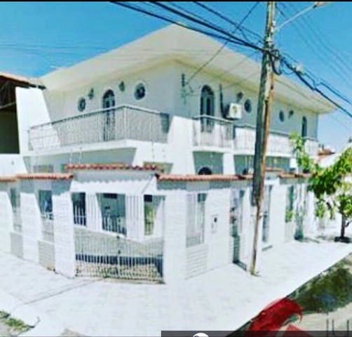 Casa grande, ideal para viagem em grupo/família.