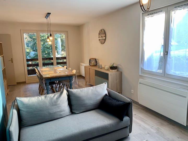 Appartement 3*, rénové moderne calme, 20 mn Colmar