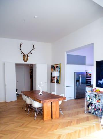 Wundervolle Altbauwohnung - Colônia - Apartamento