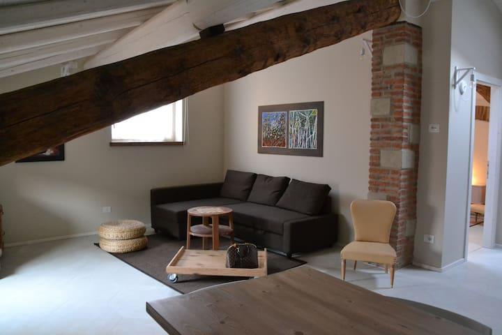 Nuovo esclusivo attico nel centro di Lazise - Lazise - Dom wakacyjny