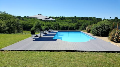 Beautiful holiday home in Sarlat set in 18 hectare