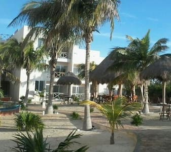 Gorgeous place at quiet beach - Progreso - Huoneisto
