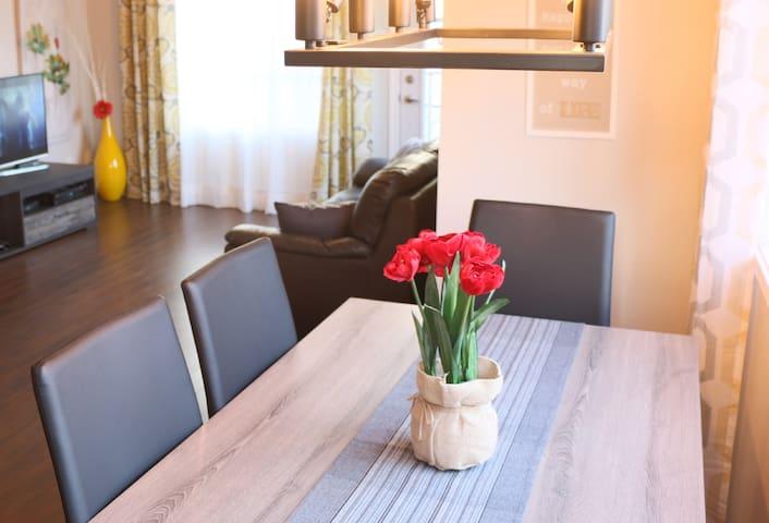 Appartement Neuf, Spacieux et Propre avec 2 lits - Ville de Québec