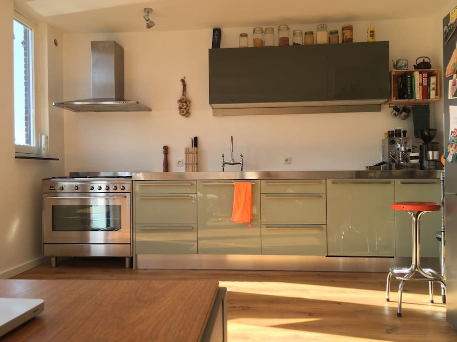 Do you love cooking? Please enjoy our kitchen..