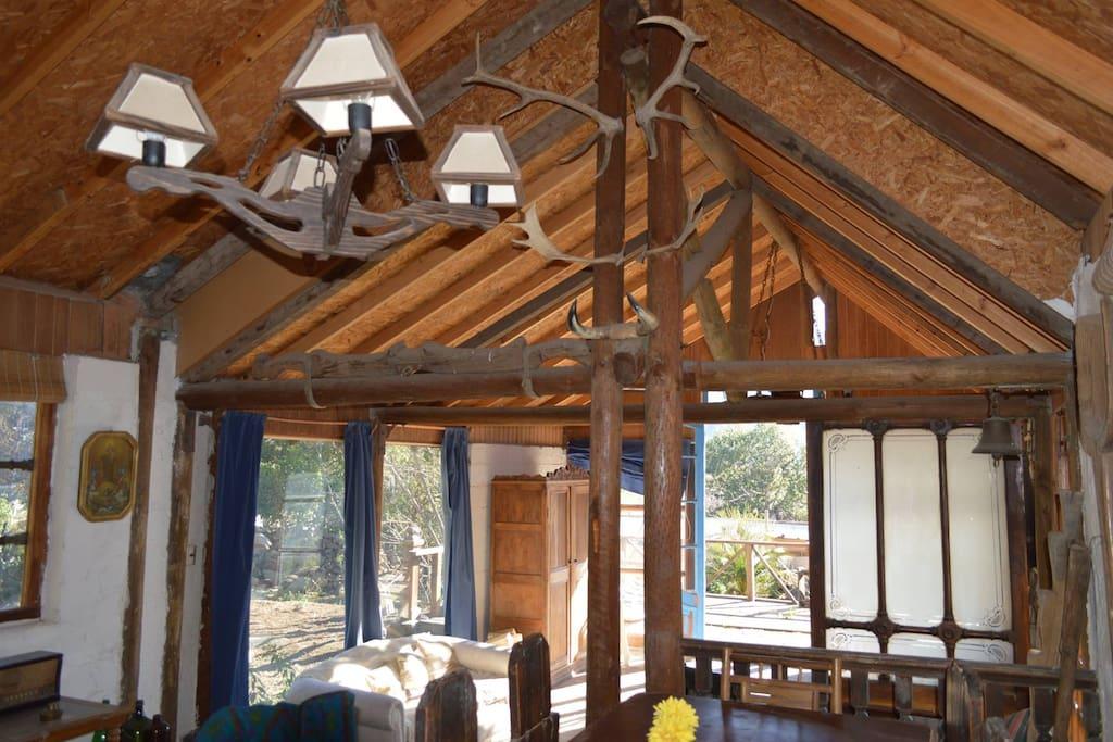 Interior lamparas Vintage