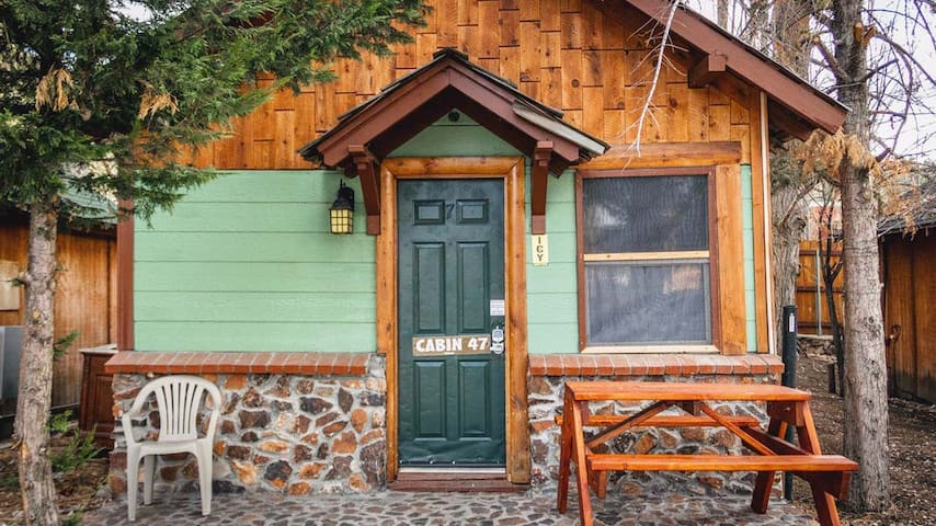 47, No Fees Cabins 4 Less, sleeps 2 Village area