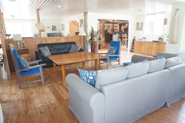 """Casa Kubler Typical Galapagos Home - """"Blue Room"""""""