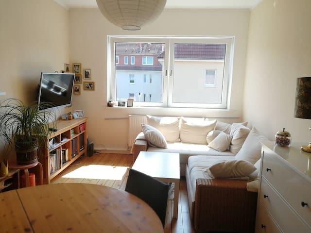 Gemütliche und helle 50m² Wohnung in bester Lage