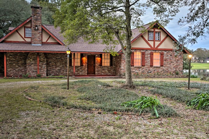NEW! Quiet French Country Home w/ Pond in Folsom!