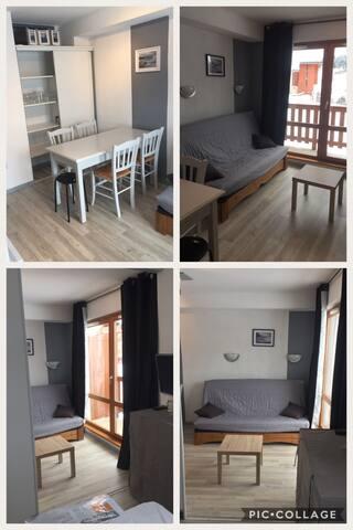 Appartement Pied des Pistes 4/6 Personnes