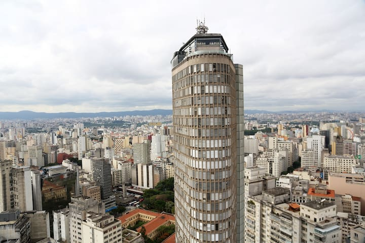 Studio completo e confortável no coração de SP :) - São Paulo - Apartment