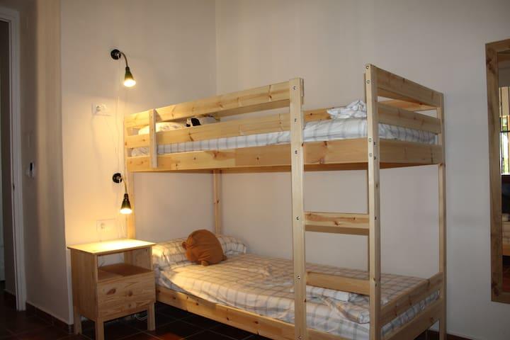 Dormitorio 3 - Literas