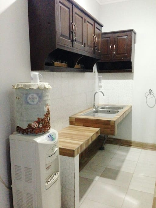 Kitchen for using together