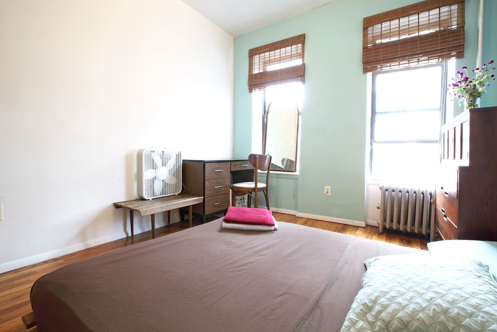 Master Bedroom: available via our other listing ('Greenpoint Big Sunny Room').