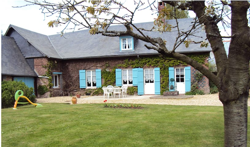 House and garden in the countryside - Beauvoir-en-Lyons - House