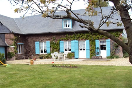 House and garden in the countryside - Beauvoir-en-Lyons - Rumah