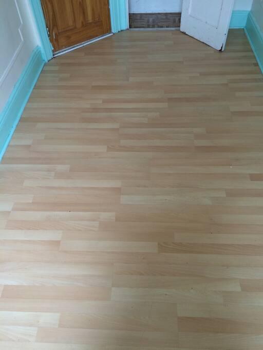 Left Room. New laminate flooring.