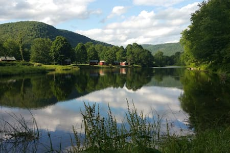 Catskills' Farmhouse & Riverfront - East Branch