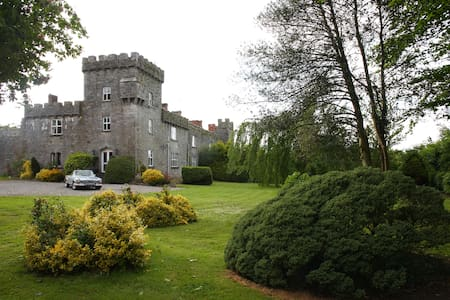 Historical Fanningstown Castle Adare in Ireland