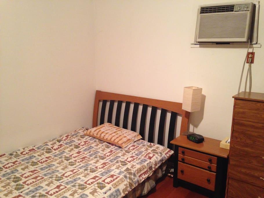 卧室 (144平方英尺),安静,舒适