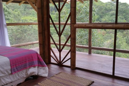 Air Room in a Bamboo Tree House