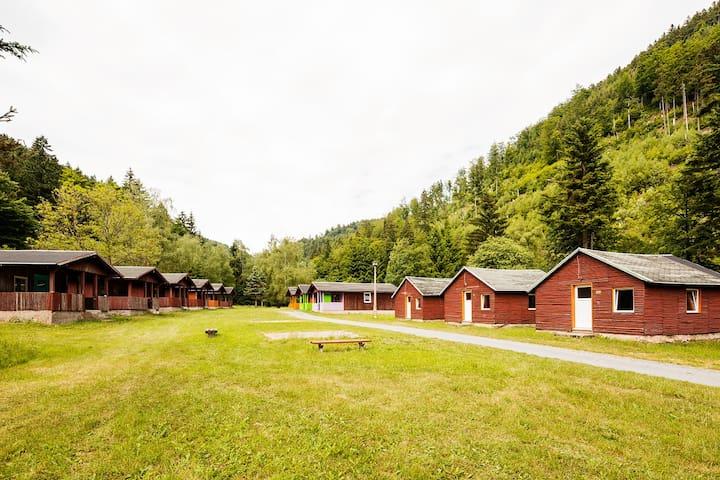 Holzhütte im Thüringer Wald (klein)
