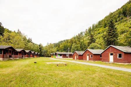 Holzhütte im Thüringer Wald (klein) - Schalkau