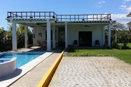 Bungalow with pool - Isla San Blas (EL SALVADOR) - La Libertad - Appartement