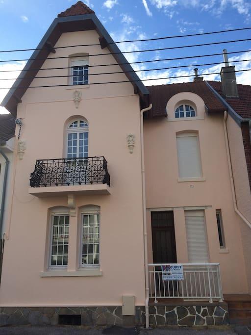 villa 4 chambres 6 lits 9 pers centre berck maisons de ville louer berck nord pas de. Black Bedroom Furniture Sets. Home Design Ideas