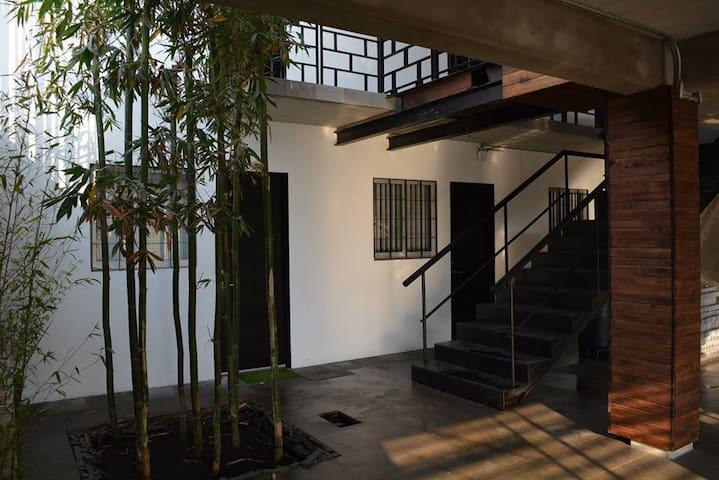 Conjunto Bambú - Habitación amueblada