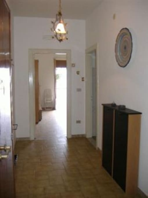 large entrance apartment