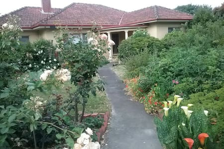 Large house and gardens in town - Leongatha