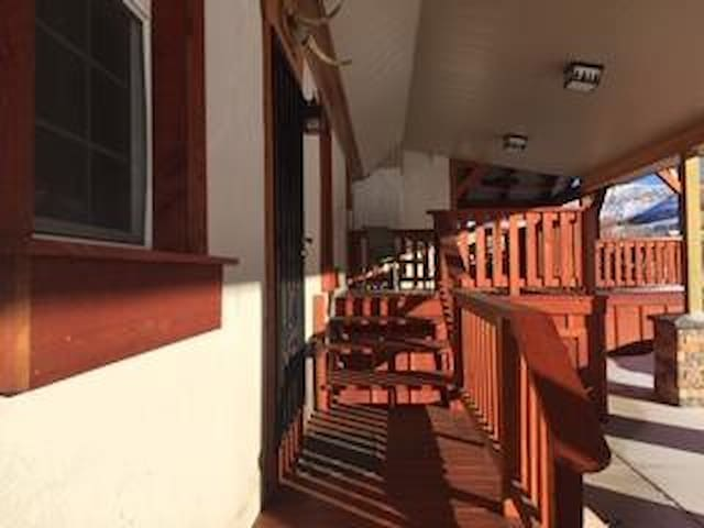 Entrance with Private Deck