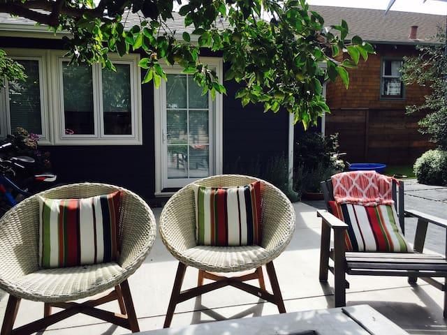 The sunniest back yard in Rockridge