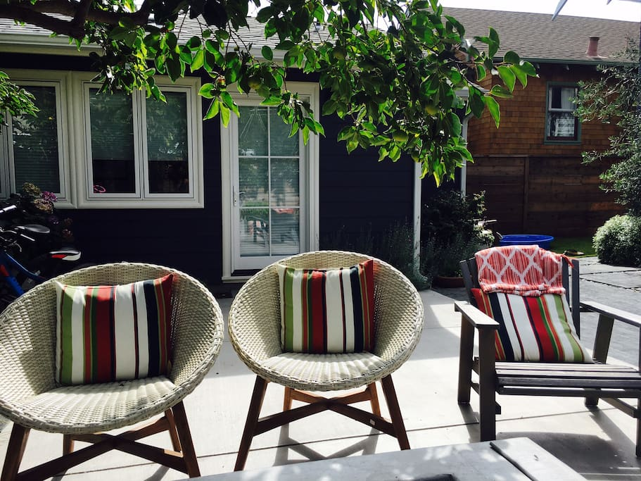 The sunniest back yard in Rockridge