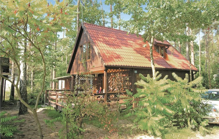 Holiday cottage with 2 bedrooms on 74m² in Ostróda