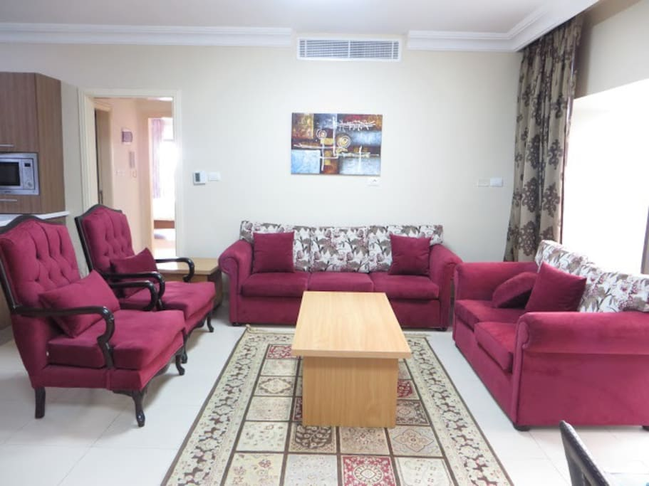 Living Room Amman Of Charming Bright Apat In Jabal Amm Apartments For Rent