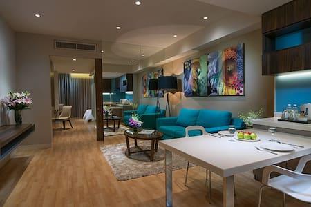 Luxurious apt with view of Petronas Twin Tower - Kuala Lumpur - Wohnung